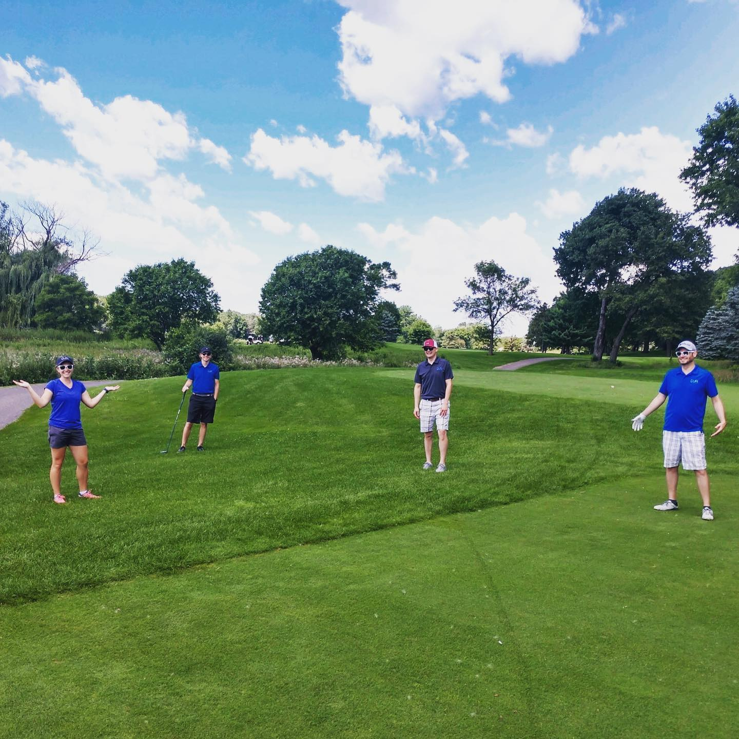 DJR players joined in with AIA MN's annual tournament on Monday to golf social-distance style. A beautiful day to gather with other architects and consultants from around the metro!•••#aiaminnesota #sixfeetapart #djrarchitecture #golf #mnsummer